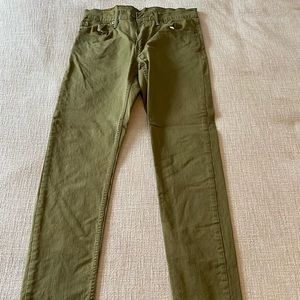 Green Levi's Jeans